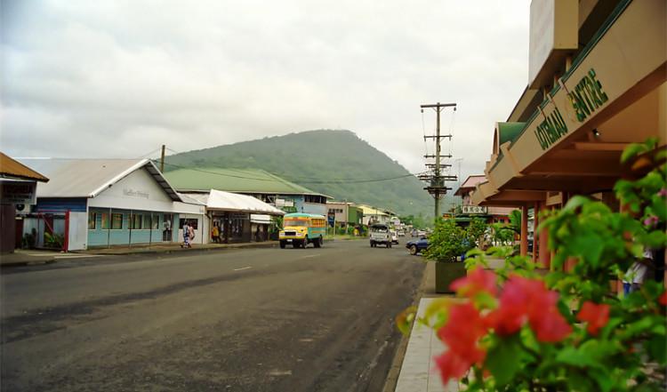 Gata i Apia, Upolu Samoa