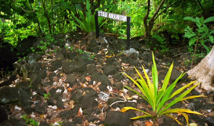 Tufutafoe Star Mountain, Samoa