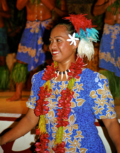 Sång vid Fiafia, Aggie Greys Samoa