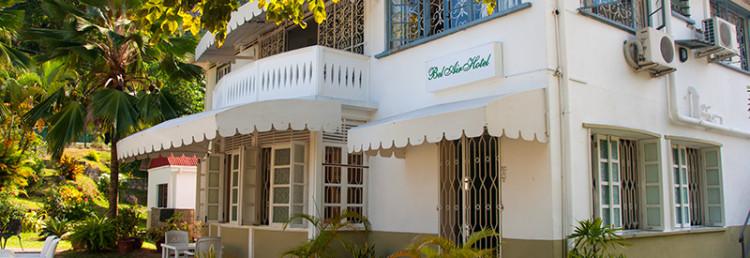 Exteriör Bel Air Hotel, Victoria Seychelles