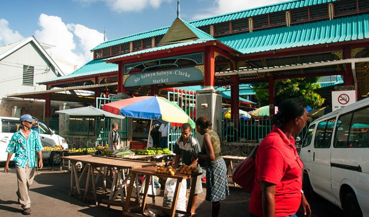 Sir Selwyn Selwyn-Clarke Market, Victoria Seychellerna