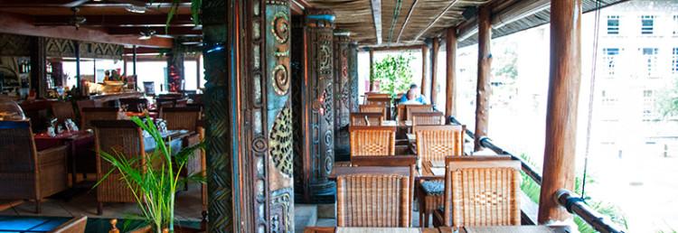 Balkong på Le Rendez Vous, Victoria Seychellerna