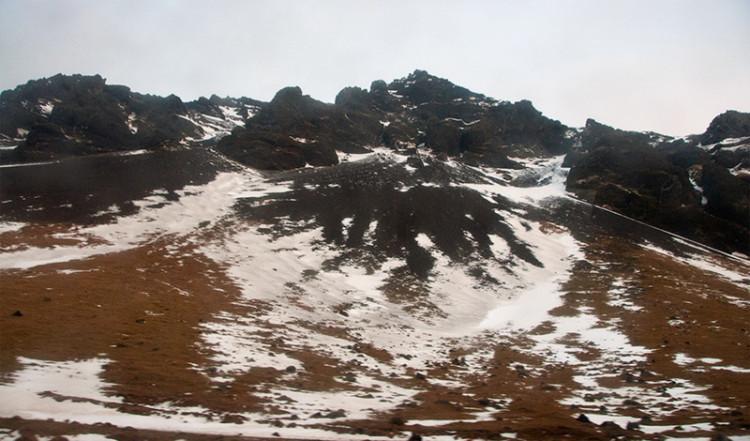 Eyjafjallajökull vulkan Island