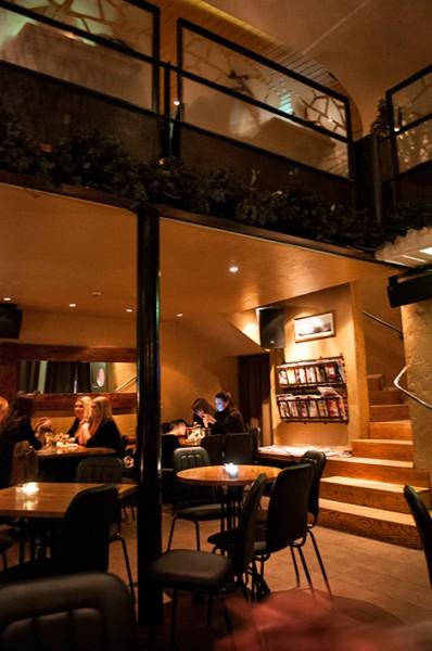Interiör Vegamot Bistro & Bar, Reykjavik