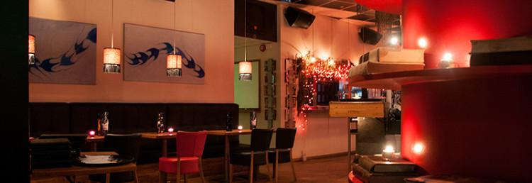 Interiör Restaurant Thorvaldsen, Reykjavik Island