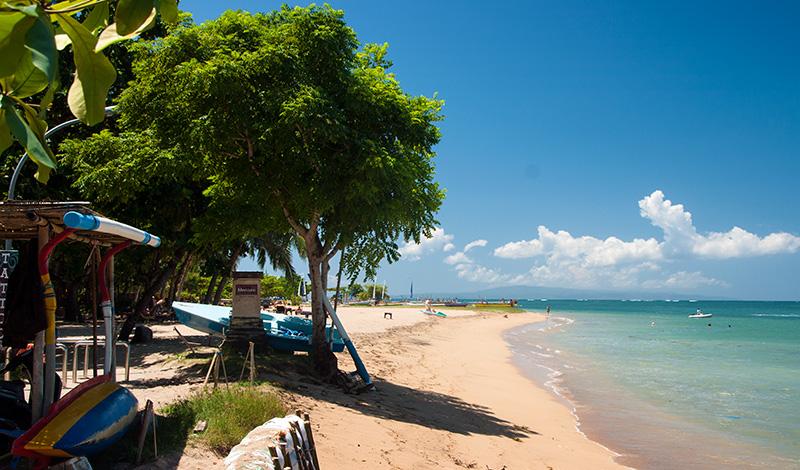 Sanur strand, Bali