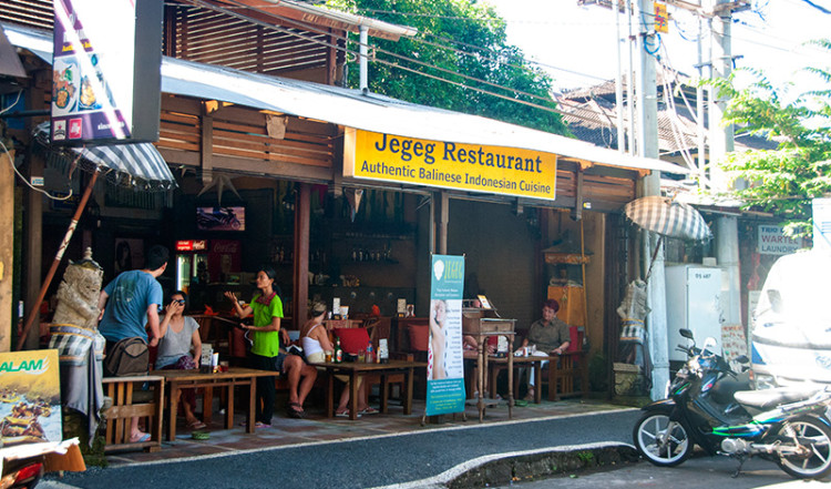Exteriör Jegeg Restaurant, Sanur Bali