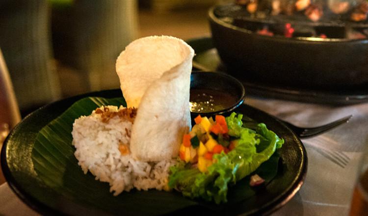 Middag på Ares, Restaurant i Sanur Bali