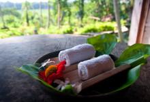 Handdukar för att fräscha upp sig vid ankomst, Bambu Indah Ubud Bali