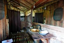 Badrummet till Padi House, Bambu Indah Ubud