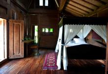 Sovrum på Padi House, Bambu Indah Ubud