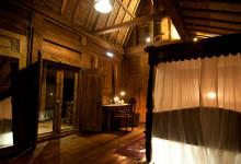 Innefrån rummet på Padi House, Bambu Indah Ubud