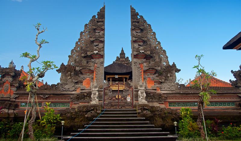 Pura Puseh tempel i Ubud, Bali