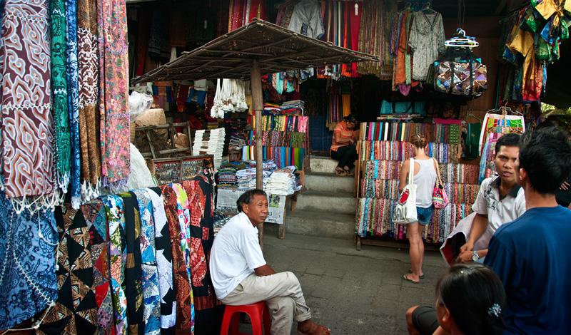 Ubud marknad, Bali