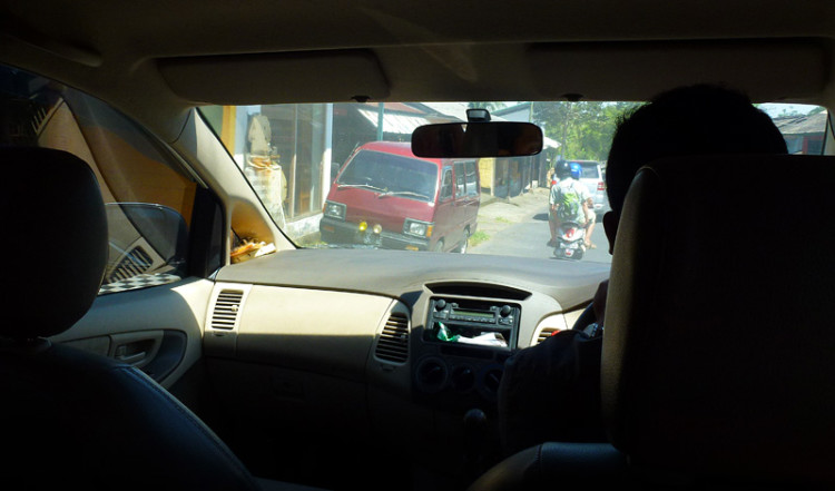 Längs små vägar till Tegallantang, Bali