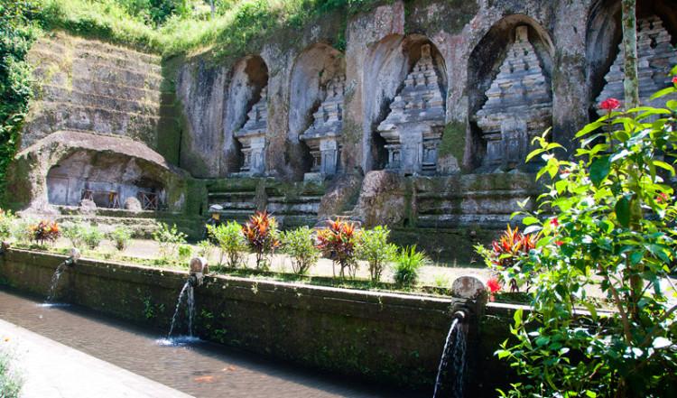 Helgedomarna vid Gunung Kawi, Bali