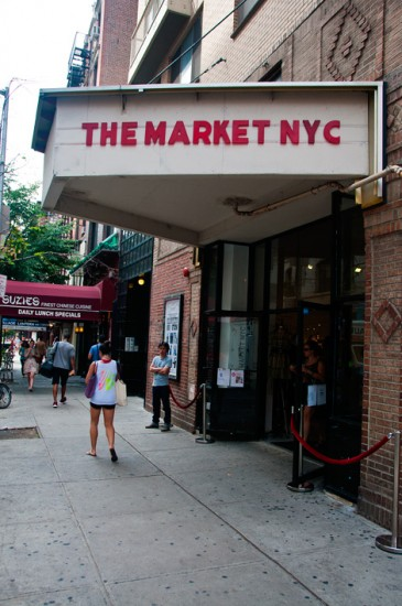 The Market NYC, inomhusmarknad för designers vid Bleeker Street New York