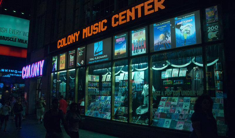 The Colony, Music Center New York