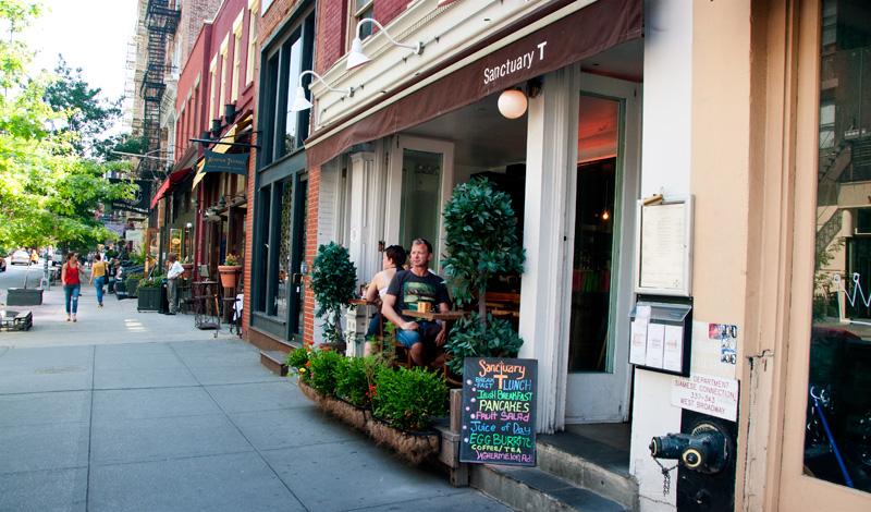 Bord vid gatan, Sanctuary T i SoHo, New York