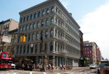 På hörnet av Broadway och Grand, SoHo New York