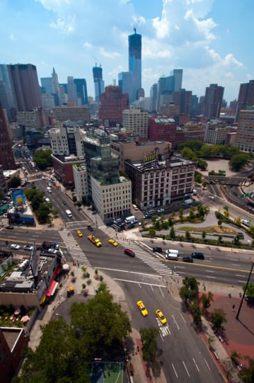 SoHo från ovan, New York