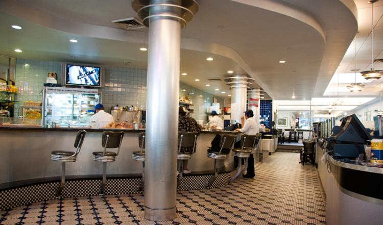 50-tals diner på Skylight Diner, New York