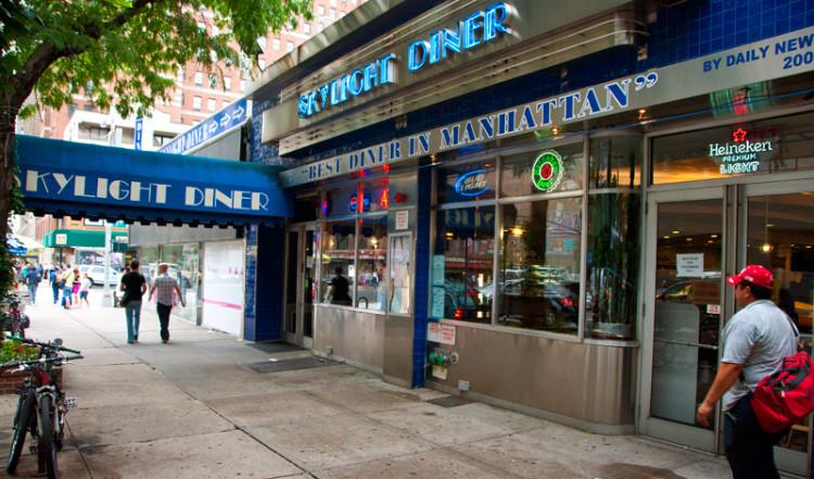 Skylight Diner exteriör, New York