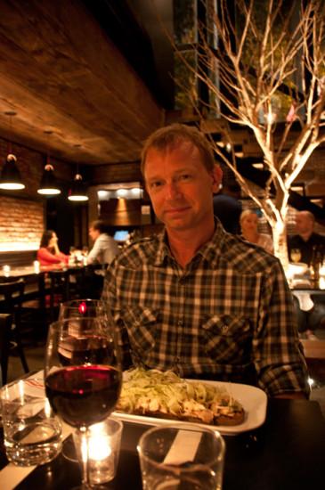 Lasse på Tartinery Restaurant, New York