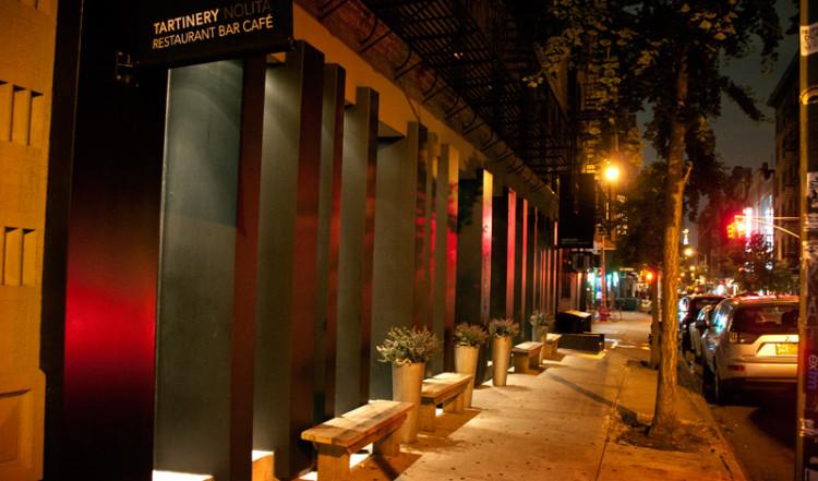 Tartinery Restaurant, Mulberry Street New York