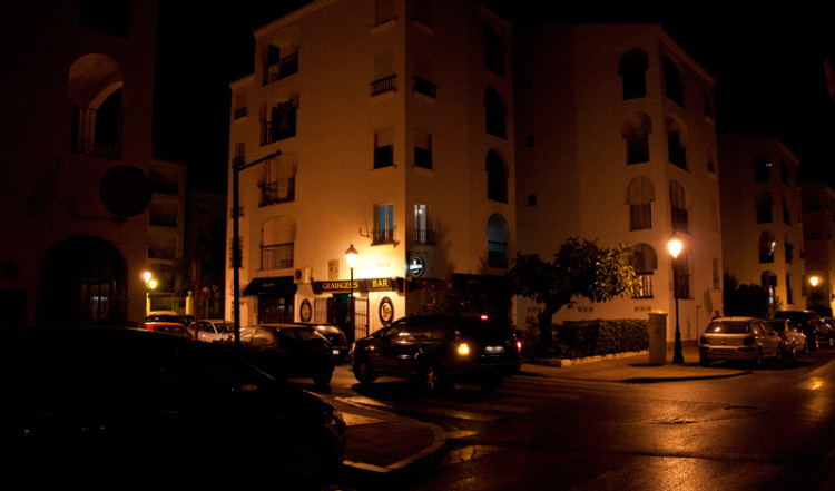 Sabinillas by night