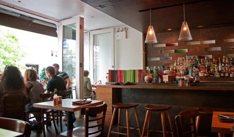 Sanctuary T Restaurant, Soho New York