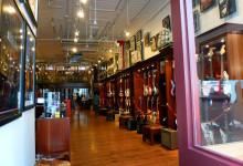 Rudys Music, boutique musikaffär i SoHo, New York City