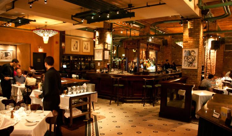 Tribeca Grill trevlig restaurang i TriBeCa, New York