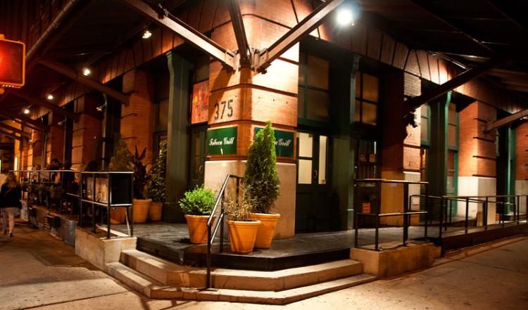 Exteriör till Tribeca Grill, New York