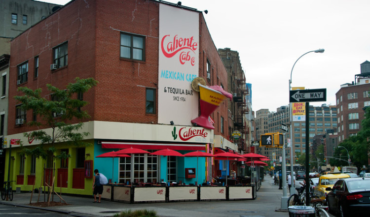 Caliente Cab Restaurant, West Village New York