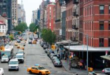 West 14 street Meatpacking District från ovan, New York