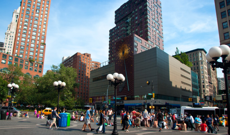 Metronome vid Union Square, New York