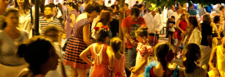 Fiestan i full gång, Verbena de Santa Ana, Manilva