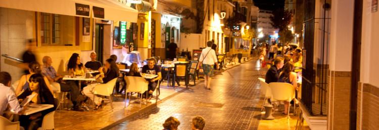 Calle Malaga, Estepona centrum