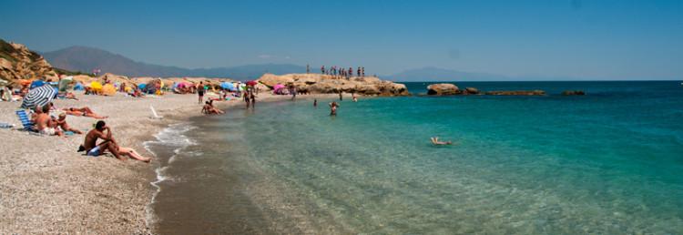 Punta Chullera strand