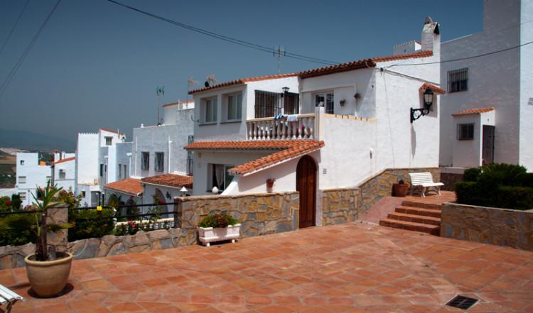 Ett litet Plaza i Monte Viñas