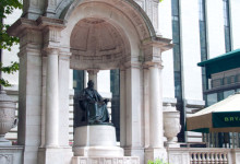 William Cullen Bryant Memorial, Bryant Park in New York