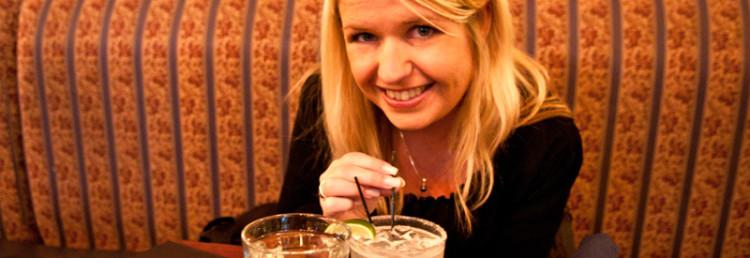 Anki med Margarita på Colibrí Mexican Bistro, San Francisco