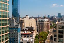SoHo från ovan, New York City