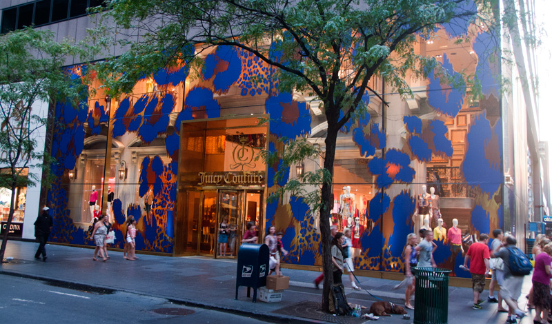 Juicy Couture flagship store, Fifth Avenue New York