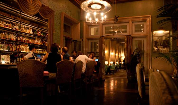 Grand Bar of Club Room, SoHo Grand Hotel New York City