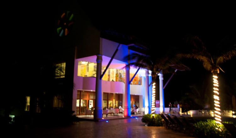 Exteriör till Restaurang, Adonis Tulum Resort