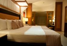 Säng på Adonis Resort, Tulum Mexiko