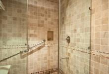 Duschen, Partenon Suite på Adonis Tulum