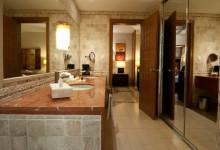 Innefrån badrum, Partenon Suite på Adonis Tulum